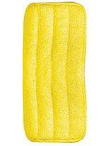 "Carlisle 363322404 24"" Wet/Dry Mop Pad - Looped End Microfiber, Yellow"