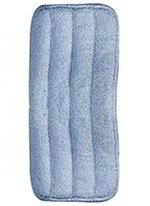 """Carlisle 363322414 24"""" Wet/Dry Mop Pad - Looped End Microfiber, Blue"""