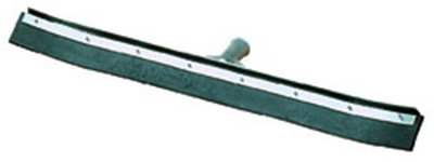 "Carlisle 36336C00 36"" Floor Squeegee Head - Single Rubber Blade, Threaded, Metal Frame"