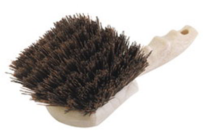 "Carlisle 3650501 8-1/2"" Utility Scrub Brush - Poly/Plastic, Brown"