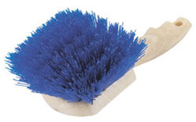 "Carlisle 3650514 8-1/2"" Utility Scrub Brush - Poly/Plastic, Blue"