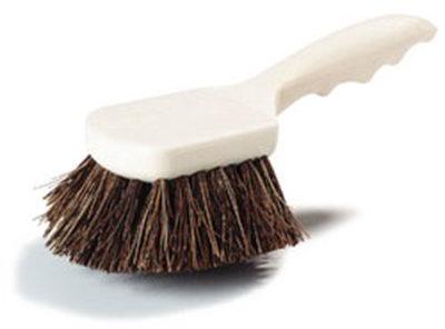 "Carlisle 3651300 8-1/2"" Utility Scrub Brush - Palmyra/Plastic"