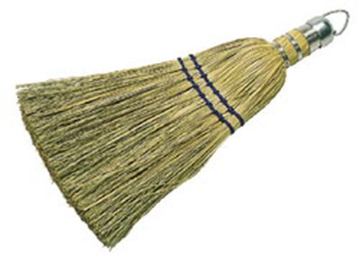 "Carlisle 3663300 10"" Corn Whisk Broom - Corn Color"