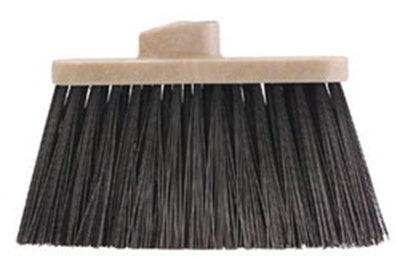 Carlisle 3685403 Light Industrial Broom Replacement Head - Black