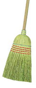 Carlisle 3685500 Warehouse Broom - Natural Corn Blend