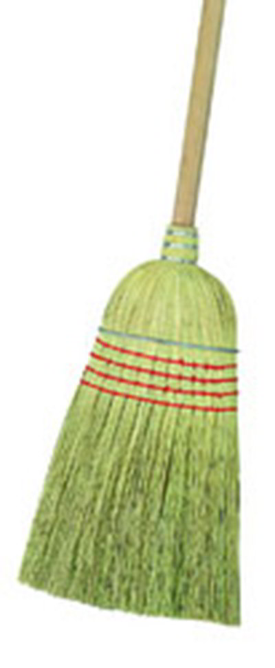 Carlisle 3685500 Warehouse Broom - Natural Corn Blend