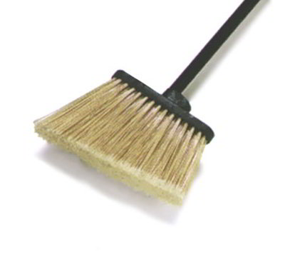 "Carlisle 3686703 12"" Angle Broom Head - Medium-Duty, Polypropylene, Black"