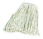 Carlisle 369074B00 Wet Mop Head - #24, 4-Ply, Cut-End, Rayon Yarn