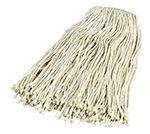 Carlisle 369824B00 Wet Mop Head - #24, 4-Ply, Cut-End, Na