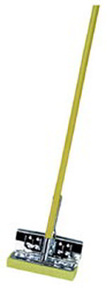 "Carlisle 3699000 8-1/4"" Sponge Mop - Cellulose, Enameled Wood Handle"
