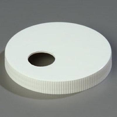 """Carlisle 38310110 4.33"""" Pump Dispenser Cap - Plastic, White"""