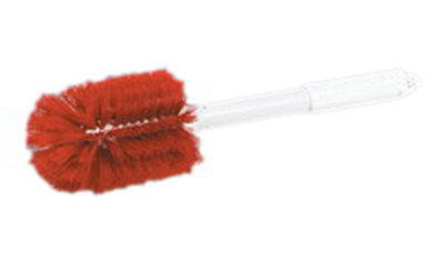 "Carlisle 4000205 16"" Oval Multi Purpose Valve/Fitting Brush - Poly/Plastic, Red"