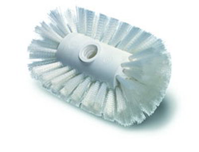 "Carlisle 4004000 7-1/2"" Tank/Kettle Brush Head - Nylon/Plastic"