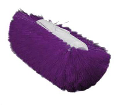 "Carlisle 4004368 9-1/2"" Tank/Kettle Brush Head - Nylon/Plastic, Purple"