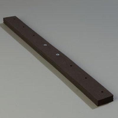 "Carlisle 4010800 24"" Floor Squeegee Refill - Flexible, Neoprene Rubber"