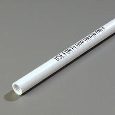 "Carlisle 4023700 48"" Floor Drain Handle - Threaded, Bilingual Imprint, Plastic"