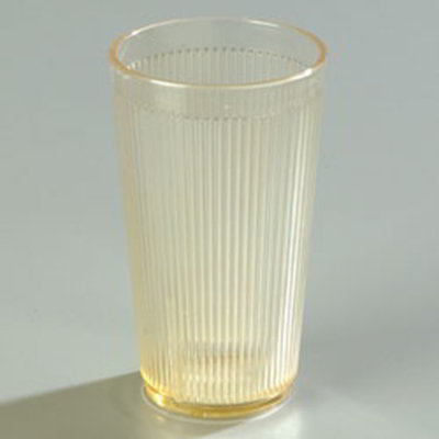 Carlisle 403422 16-oz RimGlow Tumbler - Honey Yellow