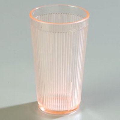 Carlisle 403552 20-oz RimGlow Tumbler - Sunset Orange
