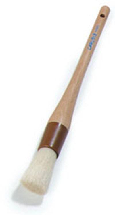 """Carlisle 40380 Basting Brush - 1"""" Round Bristles, Brown"""