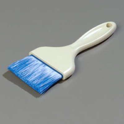 "Carlisle 4039214 3"" Pastry Brush - Nylon/Plastic, Blue"