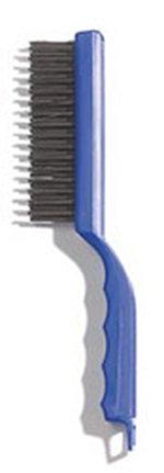 "Carlisle 4067000 11-1/2"" Scratch Brush - Carbon Steel/Plastic"