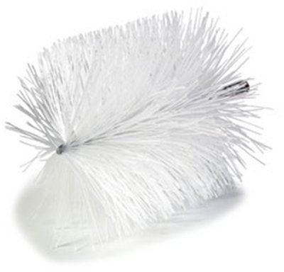 Carlisle 4127200 6-in Powder Bag Brush, 6-in Diam. & Nylon Bristles