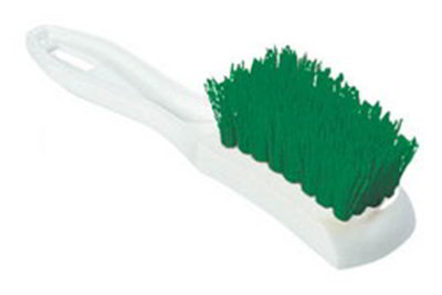 "Carlisle 4139509 7-1/4"" Multi Purpose Hand Brush - Green"