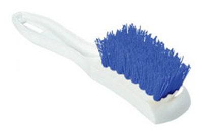 "Carlisle 4139514 7-1/4"" Multi Purpose Hand Brush - Blue"