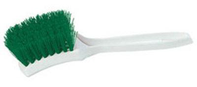 Carlisle 4139609 Multi Purpose Utility Brush, 8.5-in Plastic Block & Green Bristle