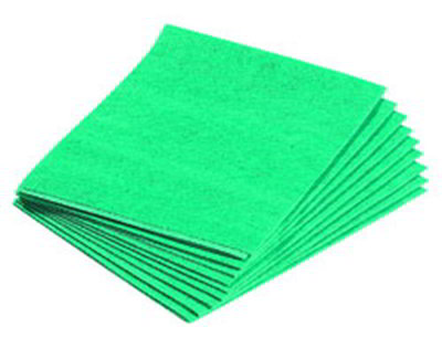 Carlisle 4148409 Cotton Towel, 13 x 17-in, Green