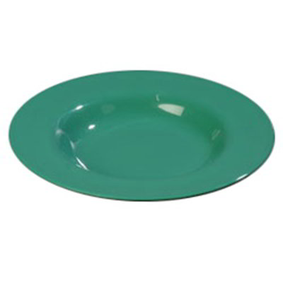 Carlisle 4303009 20-oz Durus Chef Salad/Pasta Bowl - Melamine, Meadow Green