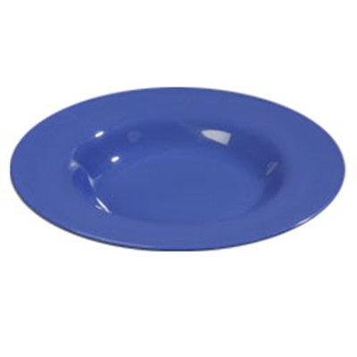 Carlisle 4303014 20-oz Durus Chef Salad/Pasta Bowl - Melamine, Ocean Blue
