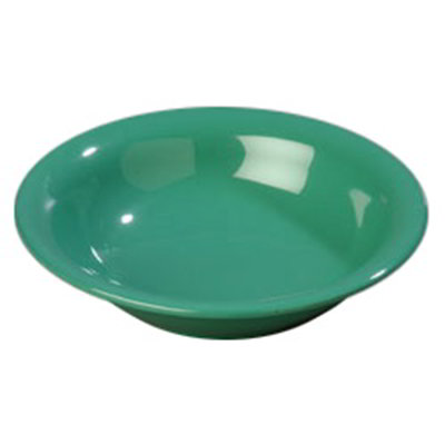 Carlisle 4303609 12-oz Durus Rim Soup Bowl - Melamine, Meadow Green