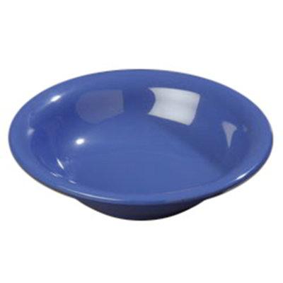 Carlisle 4303614 12-oz Durus Rim Soup Bowl - Melamine, Ocean Blue