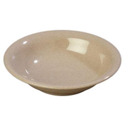 Carlisle 4303671 12-oz Durus Rim Soup Bowl - Melamine, Sand