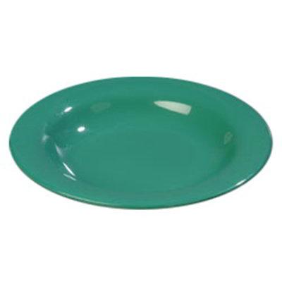 Carlisle 4303409 13-oz Durus Pasta/Soup/Salad Bowl - Melamine, Meadow Green