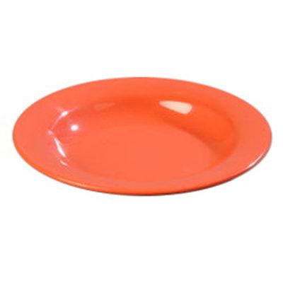 Carlisle 4303452 13-oz Durus Pasta/Soup/Salad Bowl - Melamine, Sunset Orange