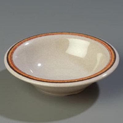 Carlisle 43037908 12-oz Durus Rim Soup Bowl - Melamine, Sierra Sand on Sand