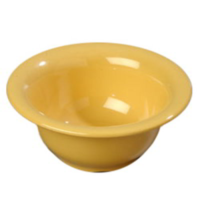 Carlisle 4303822 10-oz Durus Nappie Bowl - Melamine, Honey Yellow