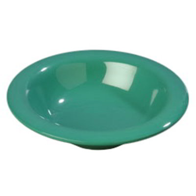 Carlisle 4304009 6-oz Durus Rim Soup Bowl - Melamine, Meadow Green