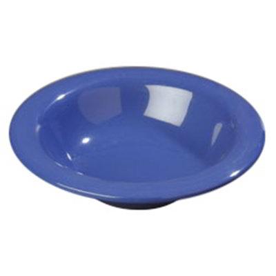 Carlisle 4304014 6-oz Durus Rim Soup Bowl - Melamine, Ocean Blue