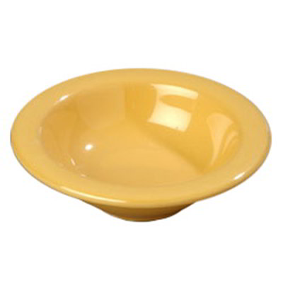 Carlisle 4304222 4-1/2-oz Durus Fruit Bowl - Melamine, Honey Yellow