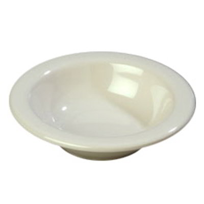 Carlisle 4304242 4-1/2-oz Durus Fruit Bowl - Melamine, Bone