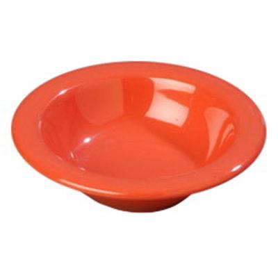 Carlisle 4304252 4-1/2-oz Durus Fruit Bowl - Melamine, Sunset Orange