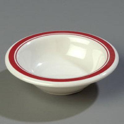 Carlisle 43043907 4-1/2-oz Durus Fruit Bowl - Melamine, Roma on Bone