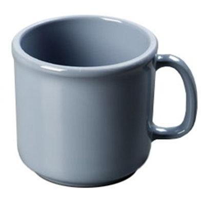 Carlisle 4305259 10-oz SAN Plastic Stackable Mug, Slate