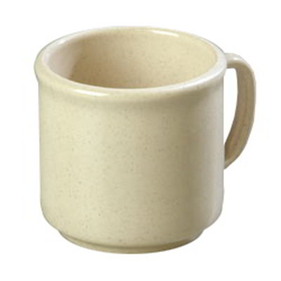 Carlisle 4305271 10-oz Stackable Mug - Sand