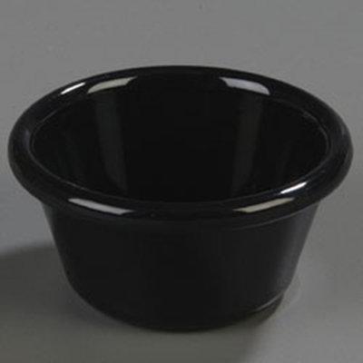 Carlisle 4312303 3-oz Ramekin - Black