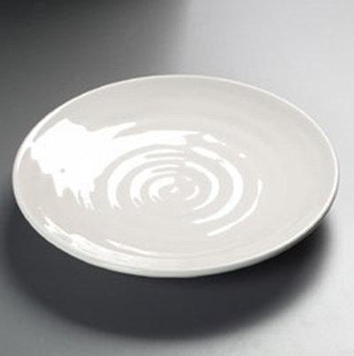 """Carlisle 4340442 9-1/2"""" Terra Dinner Plate - Melamine, Bone"""