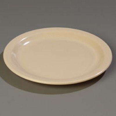"Carlisle 4350025 10-1/4"" Dallas Ware Dinner Plate - Melamine, Tan"